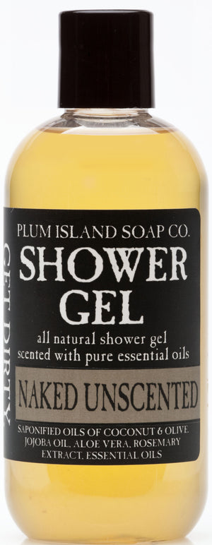 Naked Unscented Shower Gel