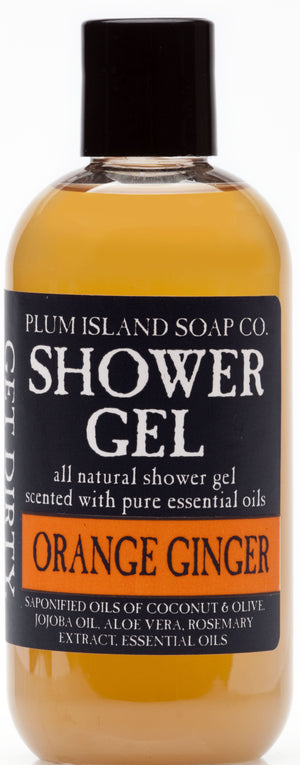 Orange Ginger Shower Gel