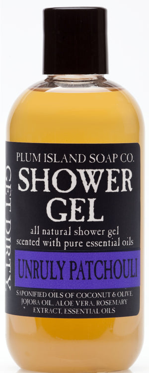 Unruly Patchouli Shower Gel