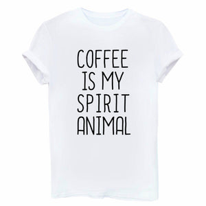 Coffee Is My Spirit Animal T Shirt
