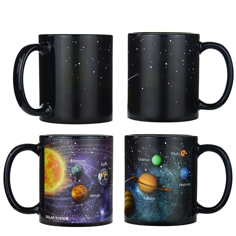 Outer Space Color Changing Mug