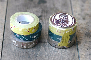 Cat Washi Tape - gift for cat lovers, Japanese Masking Tape