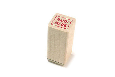 Hand made craft rubber stamp