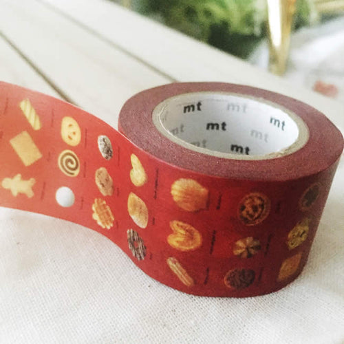 Baked Sweets Biscuit Cookies Washi Tape Japanese