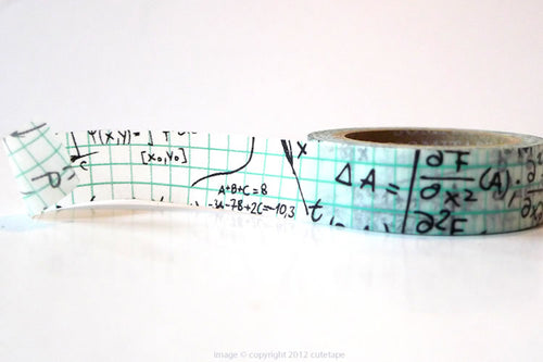 Grid Math Washi Tape