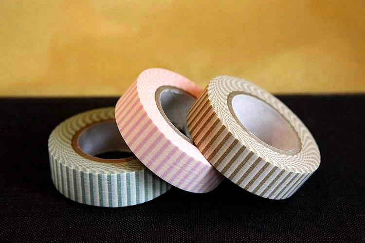 Vertical Stripe Washi Tape Japan