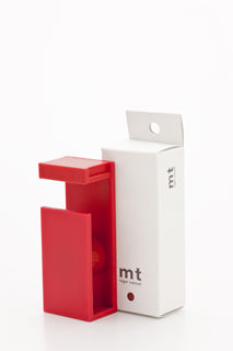 MT Tape Cutter / Dispenser - Modern Design - RED