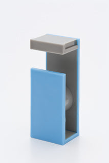 Blue Gray MT Tape Cutter / Dispenser Two Tone