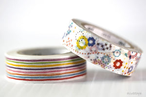 Colorful POP MT Washi Tape Japanese MT Masking Tape