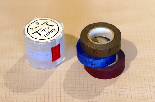 Numbered Washi Tape numbers tape Japanese 15mm