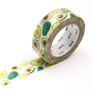 Avocado Washi Tape MT Masking Tape - Japanese
