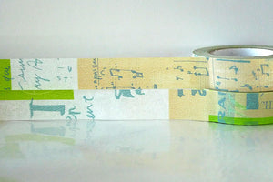 GRAFFITI A Light Japanese Washi Tape