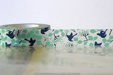 Birds in Tree Autumn Leaves Fall Japanese Washi Tape
