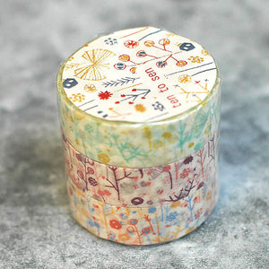 bush branches washi tape, Japanese washi tapes