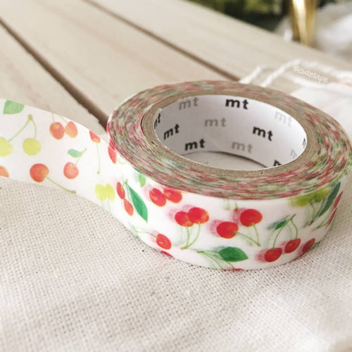Cherries washi tape - cherry MT masking tape