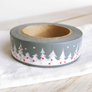 Winter Washi Tape, Christmas washi tape