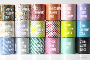 MT Casa Washi Tape for Walls - 50mm X 10m