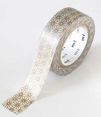 Gold washi tape stars