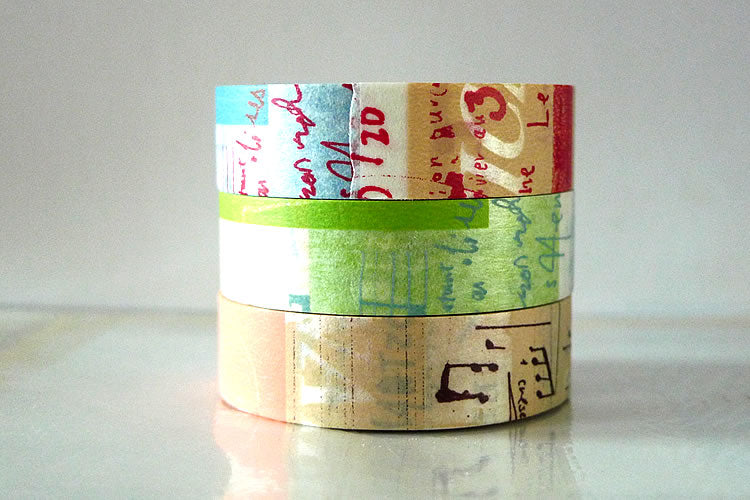 Washi Tape Graffiti Japanese Masking Tape