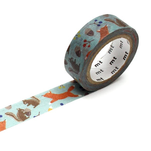 Fox and Squirrel Washi Tape MT Japanese 15mmx7m