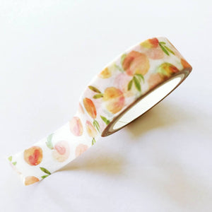Peach Washi Tape - Mini Roll