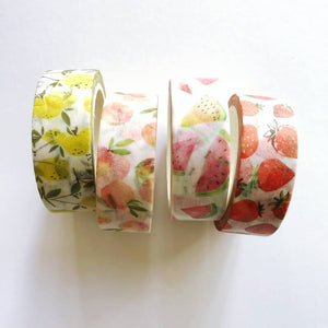 Fruits Washi Tape (mini roll)