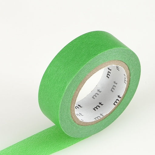 Forest Green Washi Tape MT Vibrant Solid Japanese