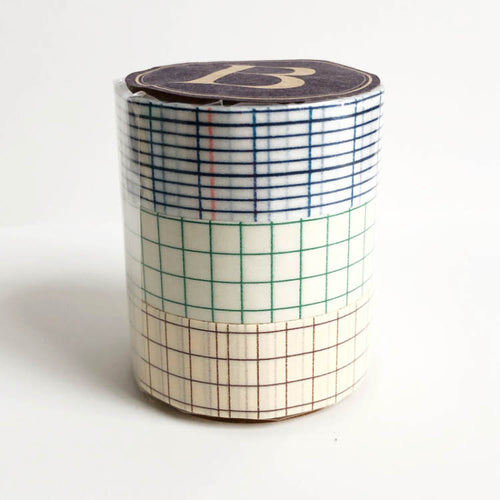 grid washi tape, Japanese washi tapes