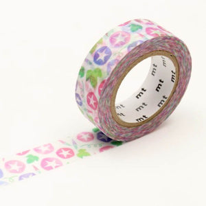 mt Morning Glory washi tape Japanese Pink Purple