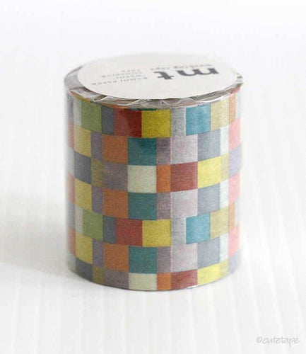 Mosaic Bright mt CASA Washi Tape 50mmx10m