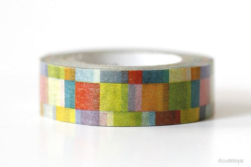 MT Mosaic Bright Washi Tape