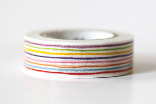 Color Pencil Stripe Washi Tape