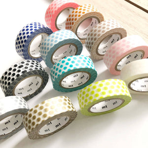 mt dots washi tape japanese