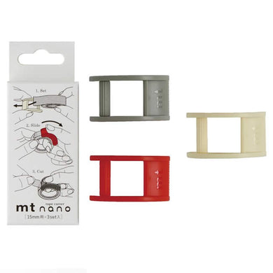 mt Nano Tape Cutter Set o 3