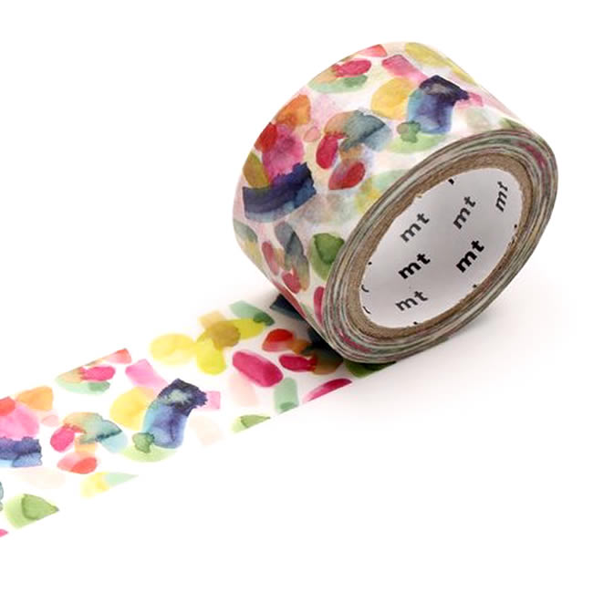mt x bluebellgray Pedro Washi Tape Japanese Abstract Watercolor