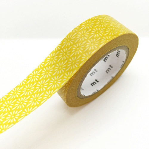 Mustard Yellow Washi Tape MT Japanese