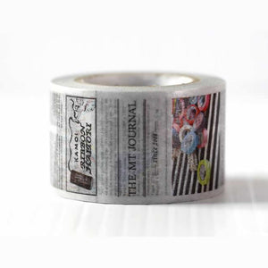 newspaper washi tape newsprint mt wide