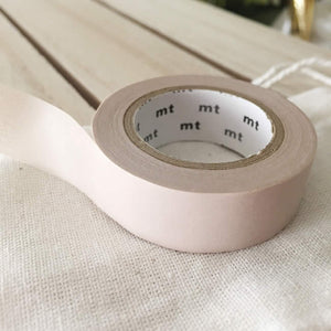 pastel brown washi tape