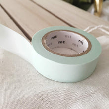 mt Pastel Washi Tape Solid Colors - Japanese