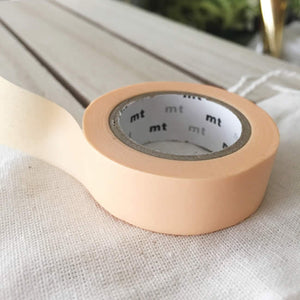 pastel orange washi tape