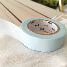 pastel power blue washi tape