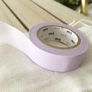 Solid Pastel Purple Washi Tape Japanese