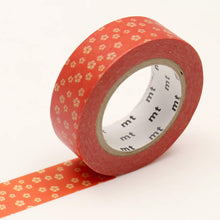 Pinwheel Flowers mt Washi Tape Japanese Floral Nejiriume