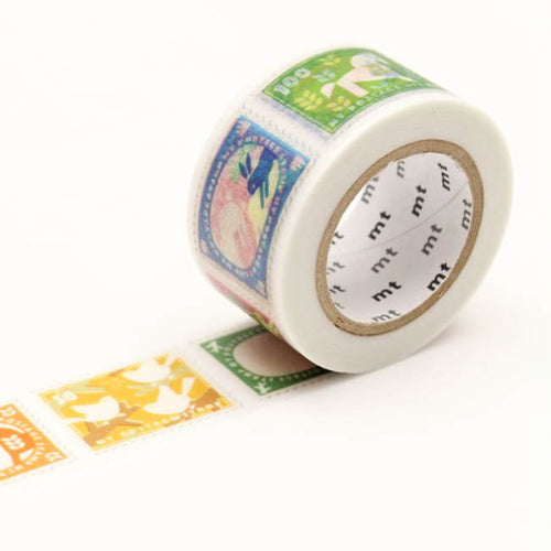 mt postage stamps washi tape