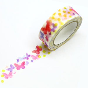 saien butterflies washi tape