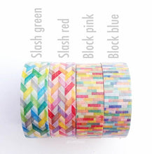 MT Block Slash Washi Tape Japanese