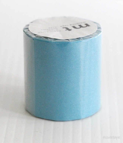 Solid Sky Blue Sora CASA Washi Tape MT 50mmx10m