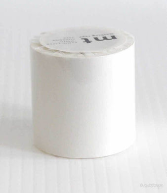 White CASA Washi Tape MT 50mmx10m White