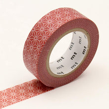Morning Star Asanoha Washi Tape Japanese MT
