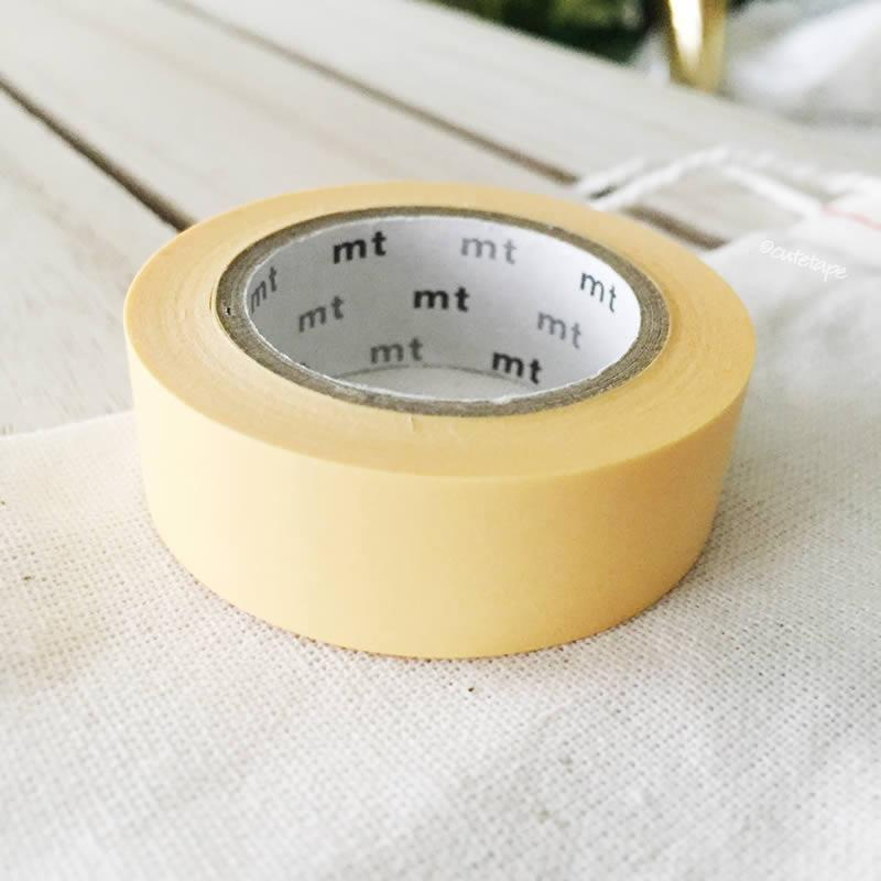Tamago: Egg Yellow MT Vibrant Solid Japanese Washi Tape